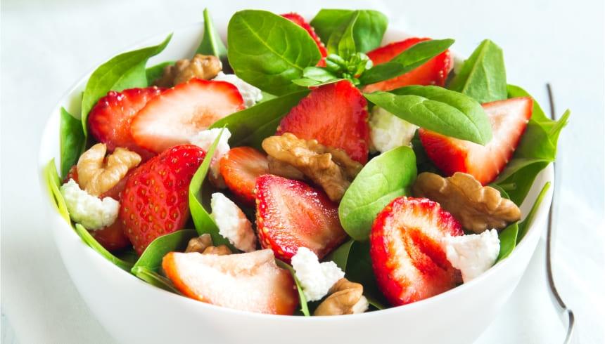 Salade langer vershouden met vershoudfolie