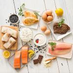De divers aliments frais
